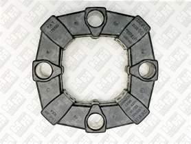 Эластичное соединение (демпфер) для гусеничный экскаватор JCB JS190 (20/950665, 331/19786, KRJ3451)