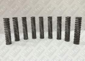Комплект пружинок (9шт.) для гусеничный экскаватор JCB JS220 (LSP0109)