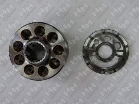 Блок поршней c распределительной плитой для экскаватор гусеничный KOMATSU HB205LC (708-2L-07210, 708-2L-33290)